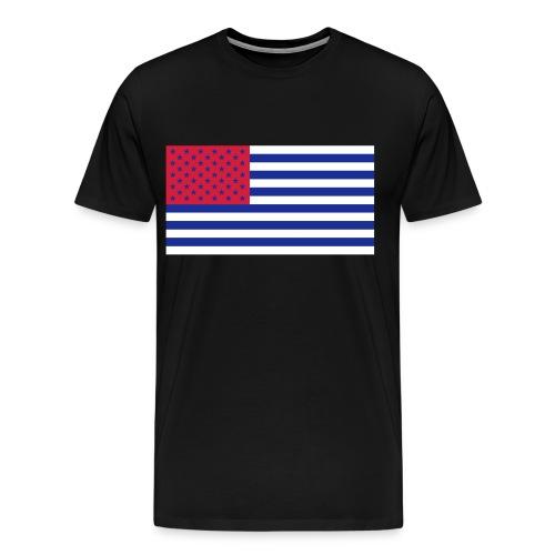 Inverted USA - Men's Premium T-Shirt