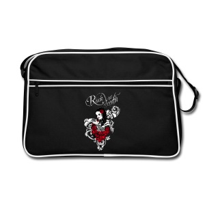 Rock till death - Retro Tasche