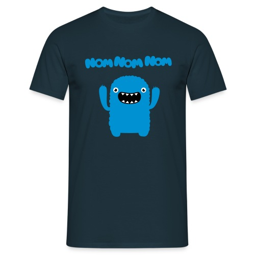 Nom Nom Nom Blue - Men's T-Shirt
