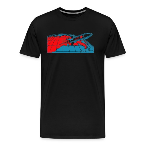 Rakete/rocket/ракета Shirt - Männer Premium T-Shirt
