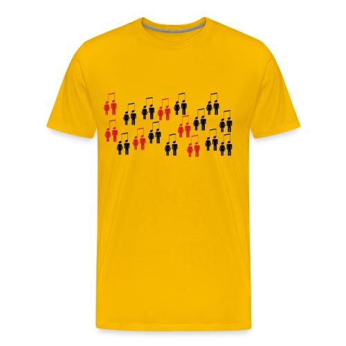 Musik verbindet!  - Männer Premium T-Shirt