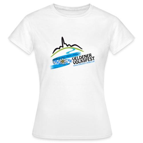 Fan-T-Shirt für d' Weiberleit - Frauen T-Shirt
