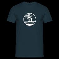 T-Shirts ~ Men's T-Shirt ~ B&C T-Shirt + Light Logo