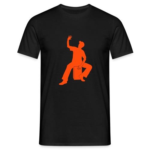 Cajon-Spieler Shirt (Herren) - Männer T-Shirt