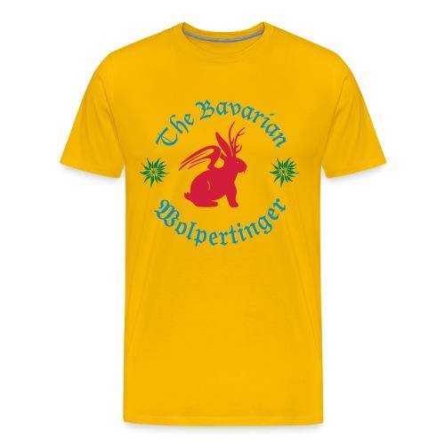 The Bavarian Wolpertinger - Männer Premium T-Shirt