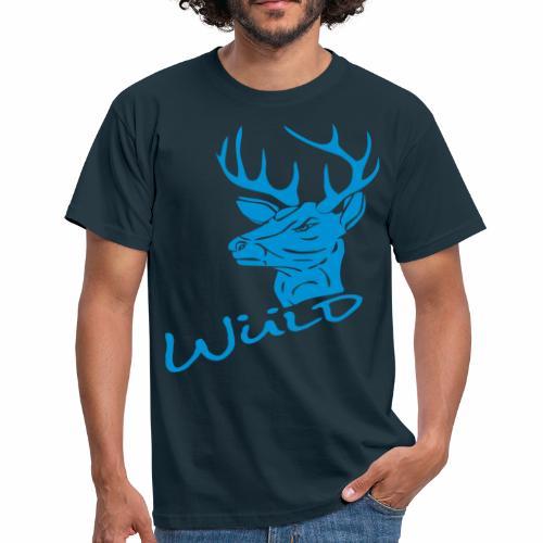 Wüld Hirsch - Männer T-Shirt