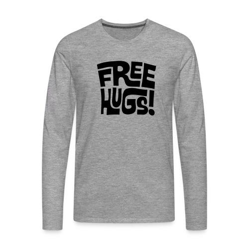 Camiseta manga larga de hombre - Camiseta de manga larga premium hombre