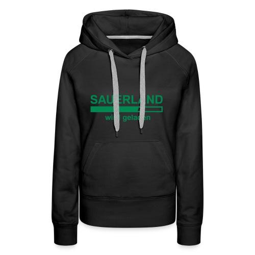 Sauerland laden - Frauen Premium Hoodie