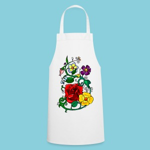 Cooking apron Flowers N°3 - Cooking Apron