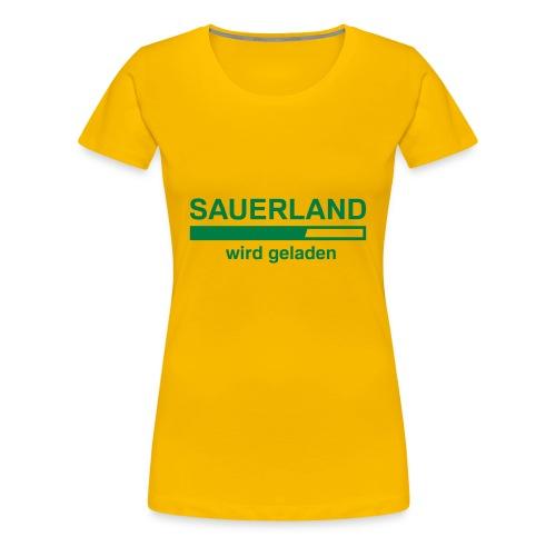 Sauerland laden - Frauen Premium T-Shirt