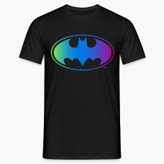 Batman Logo Neon T-Shirt