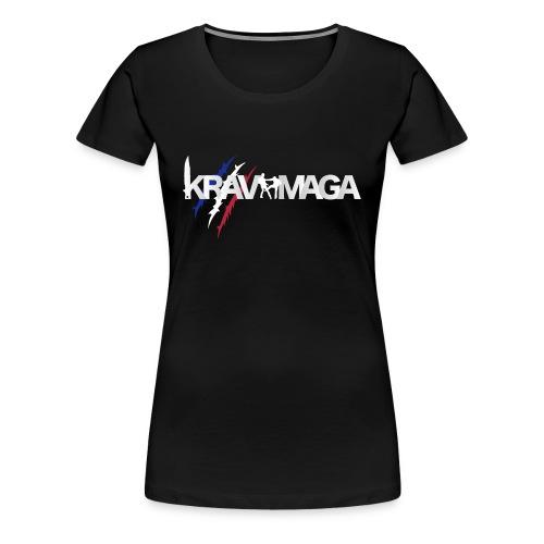 Tshirt Krav Maga France - T-shirt Premium Femme