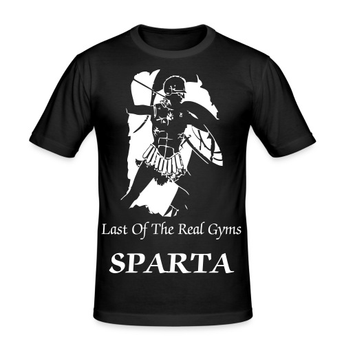 Last of the real Gyms - Männer Slim Fit T-Shirt