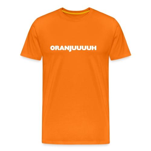 Funny Oranjuuuuuh T-shirt - Mannen Premium T-shirt