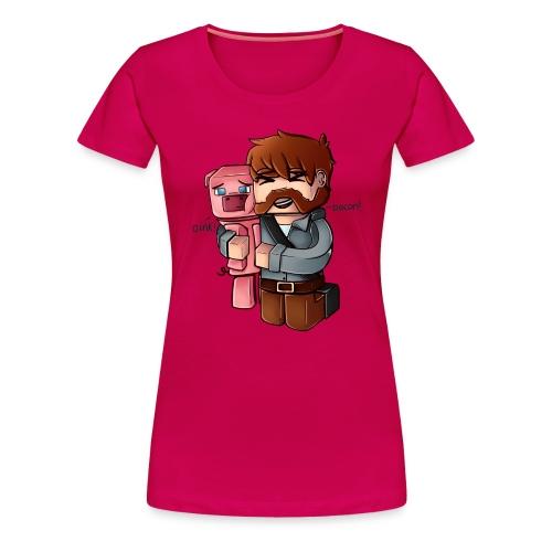 Eg elske bacon! - Premium T-skjorte for kvinner