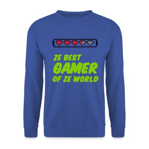 Ze Best Gamer of Ze World Pullover - Männer Pullover