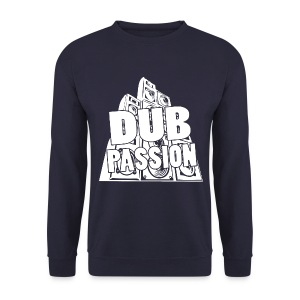 DUB PASSION WHITE - Men's Sweatshirt