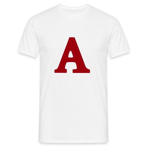 A Buchstabe für Produktname nicht Artikel - Männer T-Shirt
