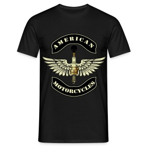 Men's T-Shirt - Motorcycle Logo