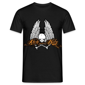 Men's T-Shirt - Riding Motorbike Design