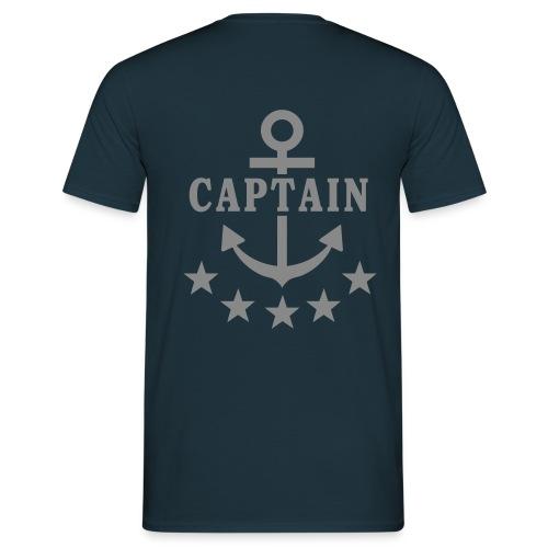 Captain - Männer T-Shirt