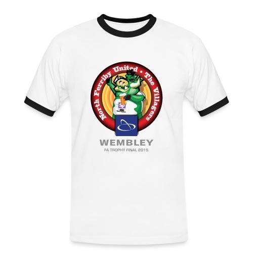 Mens NFU - Grey Text - Men's Ringer Shirt
