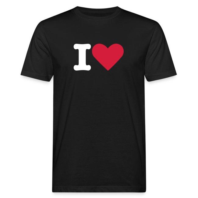 T-shirt Herr I Love ECOday
