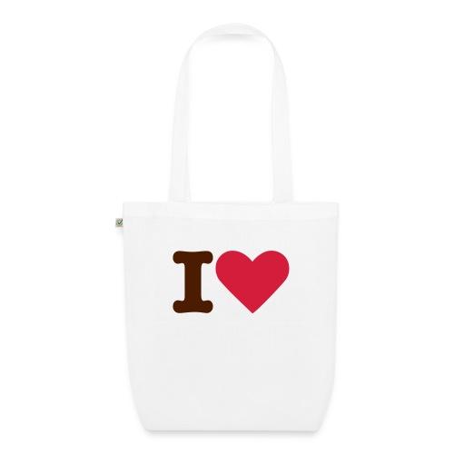 Tygväska I Love ECOday - Ekologisk tygväska