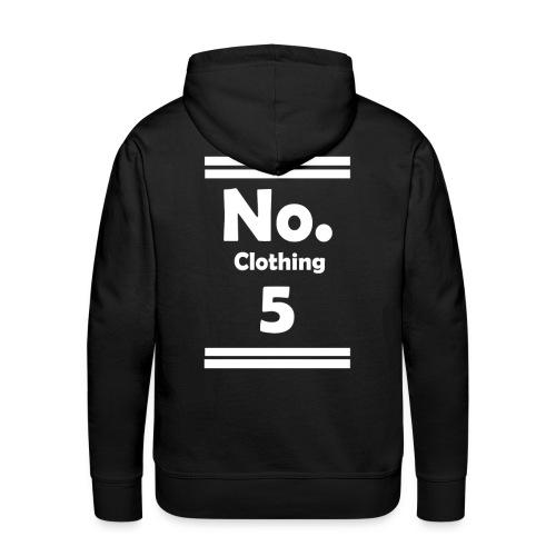 No. 5 Hoodie - Männer Premium Hoodie
