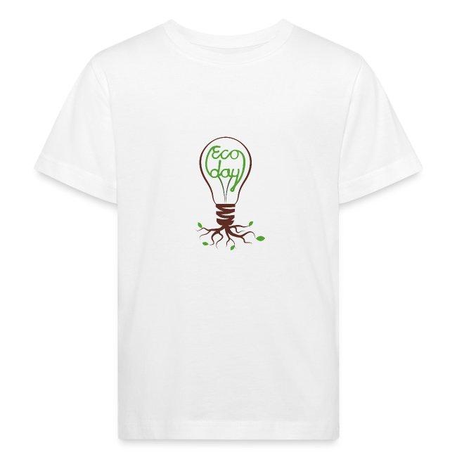 T-shirt Barn För Att Jag Bryr Mig