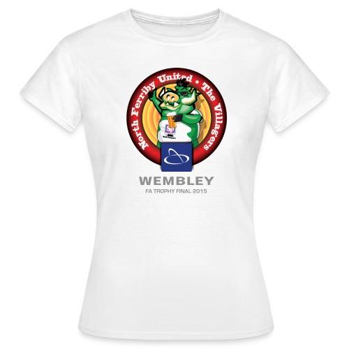Ladies NFU FA Trophy 2015 - Women's T-Shirt
