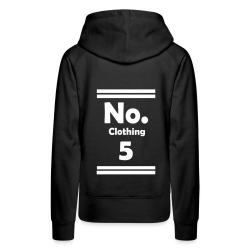 No. 5 Hoodie Woman - Frauen Premium Hoodie