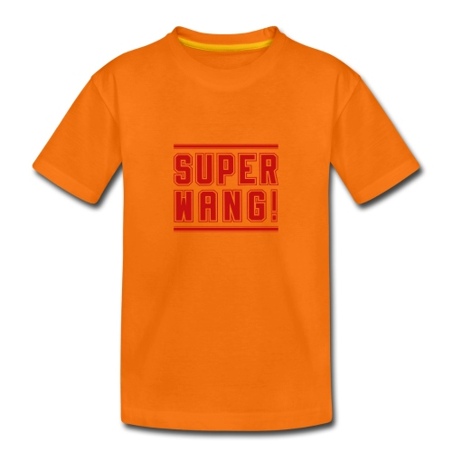 Kids T-Shirt SUPER WANG! Logo - Kinder Premium T-Shirt
