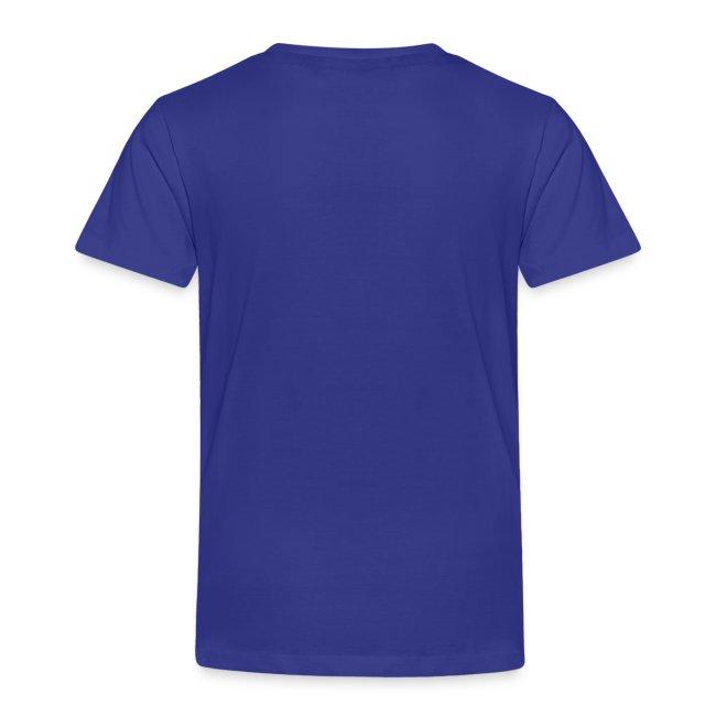 "SUPER WANG! T-Shirt für Kinder, rotes Logo ""SUPER WANG!"""