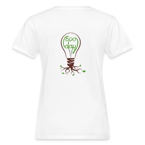 T-shirt Dam ECOday Ryggtryck - Ekologisk T-shirt dam