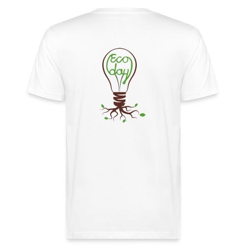 T-shirt Herr ECOday Ryggtryck - Ekologisk T-shirt herr