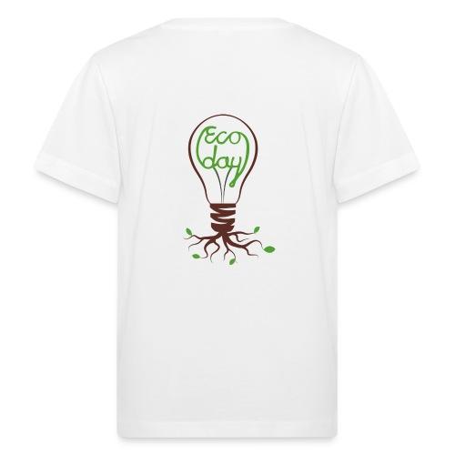 T-shirt Barn ECOday Ryggtryck - Ekologisk T-shirt barn