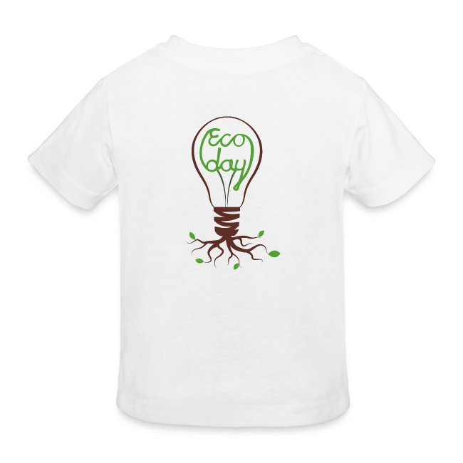 T-shirt Barn ECOday Ryggtryck