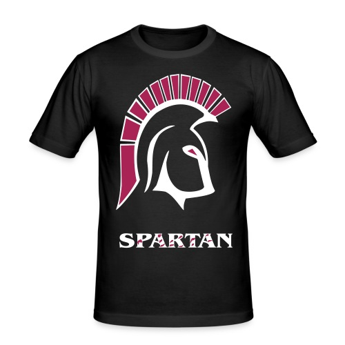 Bloody Spartan - Männer Slim Fit T-Shirt