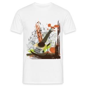 Men's T-Shirt - Music - Guitar Design