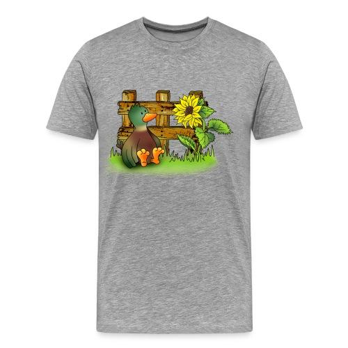 T-Shirt Ente - Männer Premium T-Shirt
