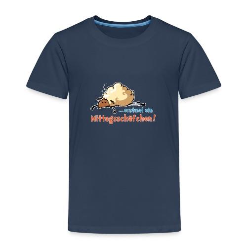 … erstmal ein Mittagsschäfchen - Kinder Premium T-Shirt