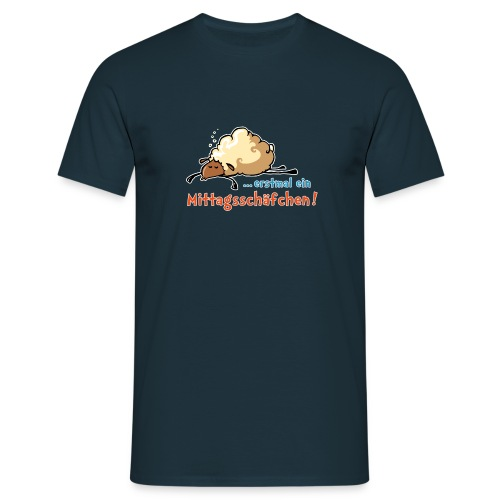 … erstmal ein Mittagsschäfchen - Männer T-Shirt