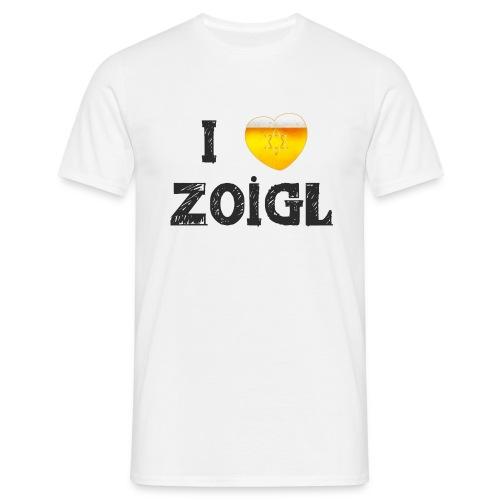 I love Zoigl 1 - Männer T-Shirt