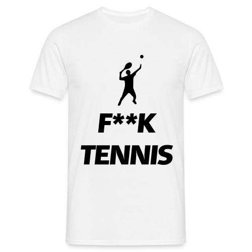 Herren Tennis F--K T-Shirt - Männer T-Shirt