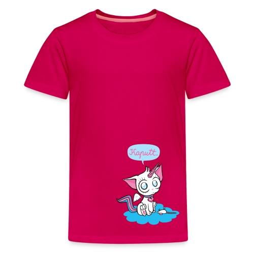 Kaputt Cat - Teenager Premium T-Shirt