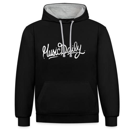 MusicDaily Hoodie - Contrast hoodie