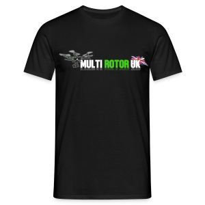 MultiRotor UK T-Shirt Up To 3XL - Men's T-Shirt