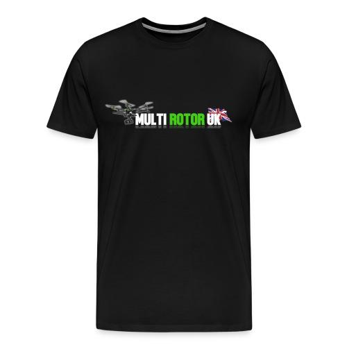MultiRotor UK T-Shirt Up To 5XL - Men's Premium T-Shirt