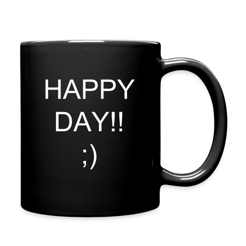 HAPPY DAY - Taza de un color
